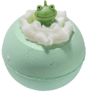 Its Not Easy Being Green Bath Bomb with Toy Frog - Bomb Cosmetics