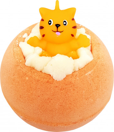 Meow For Now Bath Bomb with Toy Cat - Bomb Cosmetics