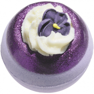 V Is For Violet Bath Bomb, 160g - Bomb Cosmetics