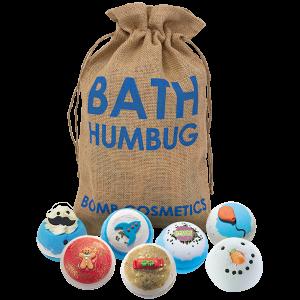 Bath Humbug Gift Set Santa Sack - Bomb Cosmetics