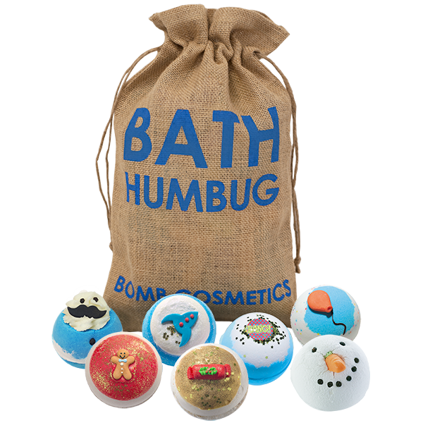Bath Humbug Hessian Sack Bath Bomb Gift Set – Bomb Cosmetics
