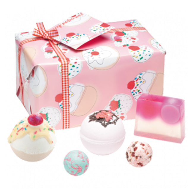 Cherry Bathe-Well Gift Pack - Bomb Cosmetics