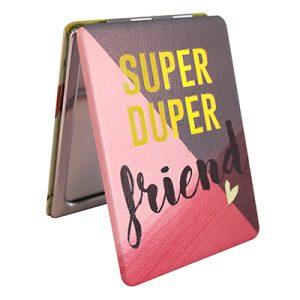 Disaster Designs Ta-Daa! Super Duper Friend Compact Mirror