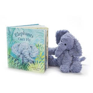 Elephants Can't Fly Book jellycat