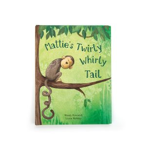 Mattie's Twirly Whirly Tail Book - Jellycat