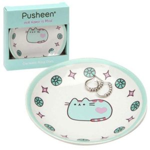 Pusheen Green Ring Dish - Our Name Is Mud