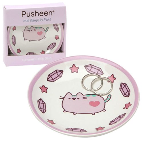 Pusheen Purple Ring Dish - Our Name Is Mud