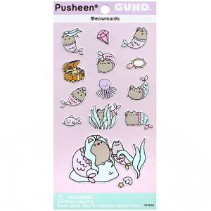 Pusheen Mermaid Stickers