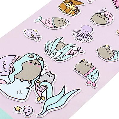 Pusheen Mermaid Stickers