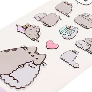 Pusheen and Stormy Sticker Sheet