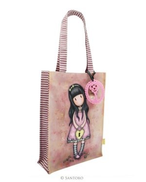 Gorjuss Coated Shopper Bag - The Secret