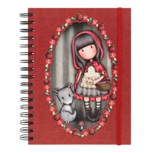 Gorjuss Little Red Riding Hood Double Cover Wirobound Journal