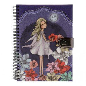 Santoro Mirabelle Midnight Garden Wirobound Journal