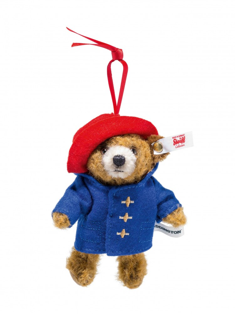 Steiff Paddington Bear Mohair Ornament - EAN 690396