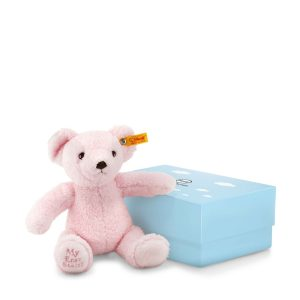 My First Steiff Teddy Bear In Box, Pink - EAN 241352