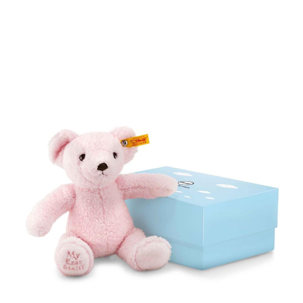 My First Steiff Teddy Bear In Box, Pink - EAN 241352