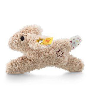 Steiff Mini Rabbit Rattle with Rustling Foil - EAN 240683