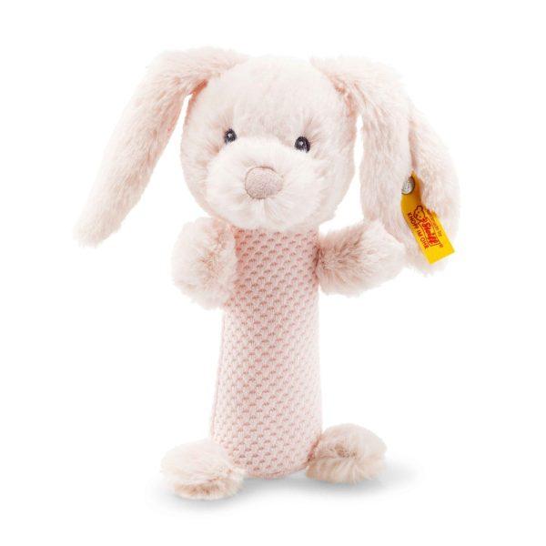 Steiff Soft Cuddly Friends Belly Rabbit Rattle - EAN 240805