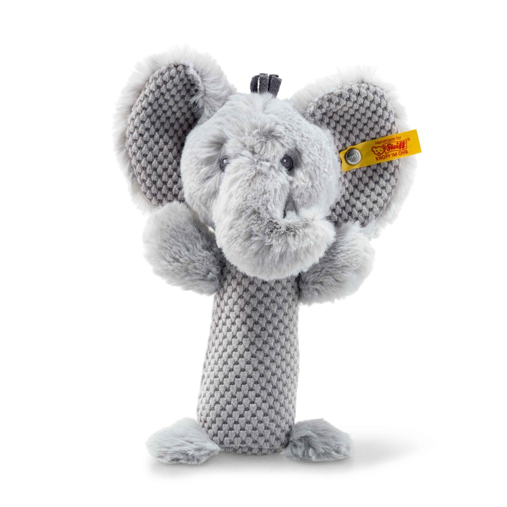 Steiff Soft Cuddly Friends Ellie Elephant Rattle - EAN 240768
