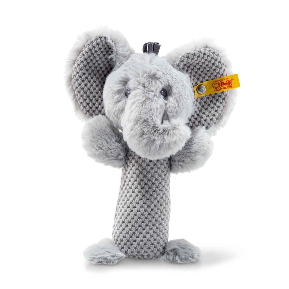 Steiff Soft Cuddly Friends Ellie Elephant Rattle - EAN 240768