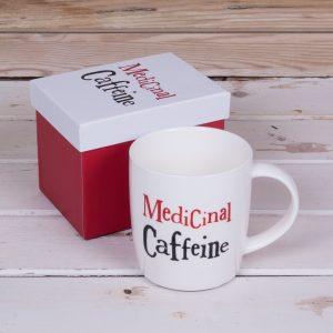 Medicinal Caffeine Mug - The Bright Side