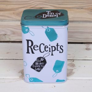 Receipts Tin - The Bright Side
