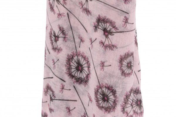 Pink Dandelion Scarf - Willow & Rose
