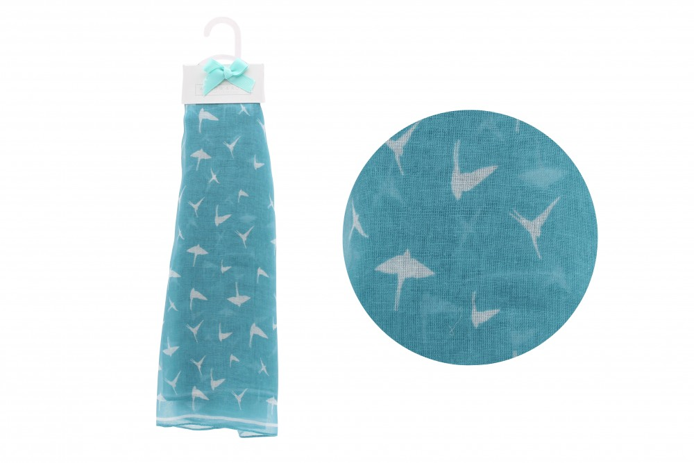 Blue Bird Scarf - Willow & Rose