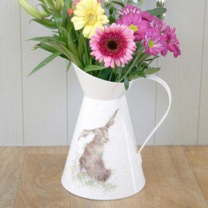 Harebells Hare Flower Jug - Wrendale Designs