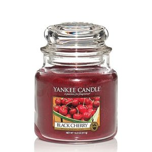 Black Cherry - Yankee Candle - Medium Jar