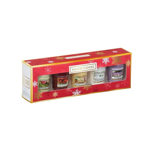 Yankee Candle The Perfect Christmas 5 Votive Everyday Gift Set