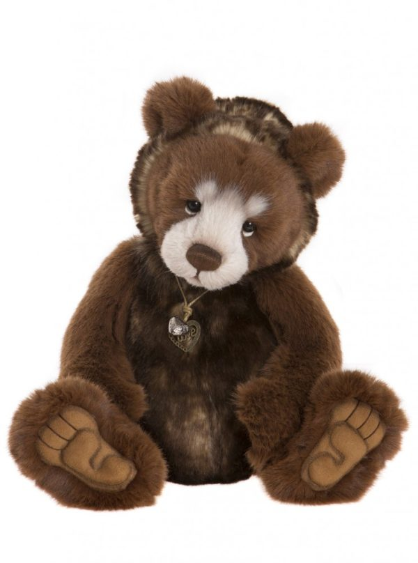 Pamper Plush Bear, 42 cm – Charlie Bears CB181817B