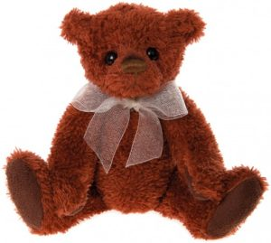 Charlie Bears Jersey Teddy Keyring 5""