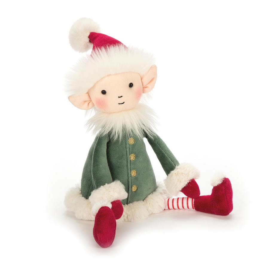 Jellycat Leffy Elf - Medium 32 x 10 cm