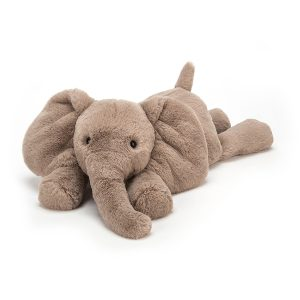 Jellycat Smudge Elephant – Large, 22 Inch