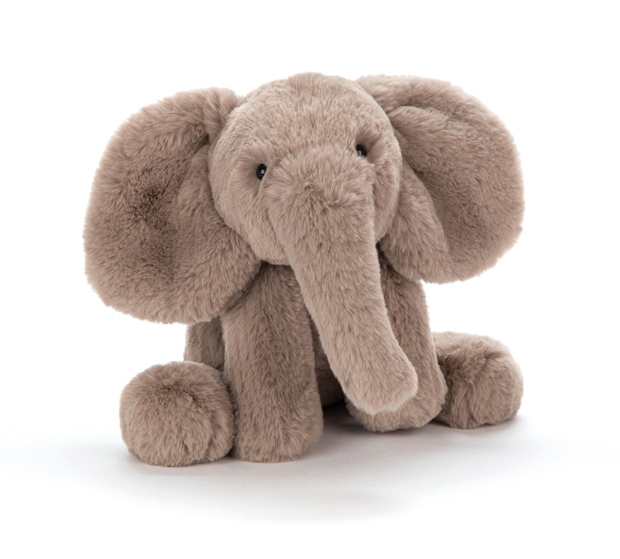 Jellycat Smudge Elephant - Medium, 34 cm