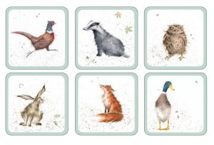 wrendale designs coasters full set