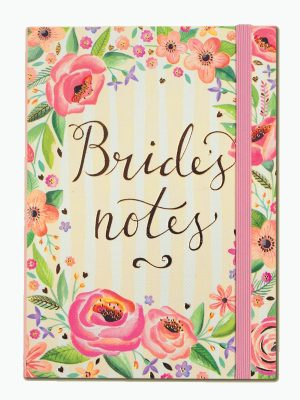 Bride's Notes A6 Notebook - Rachel Ellen Designs