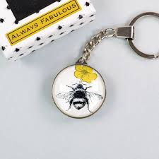 Always Fabulous Bee Keyring In Box - Soul UK