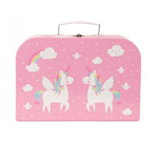 Sass and belle unicorn picnic box tea set