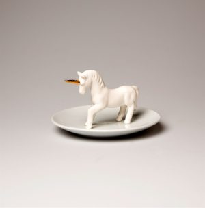 Sass and belle unicorn trinket dish
