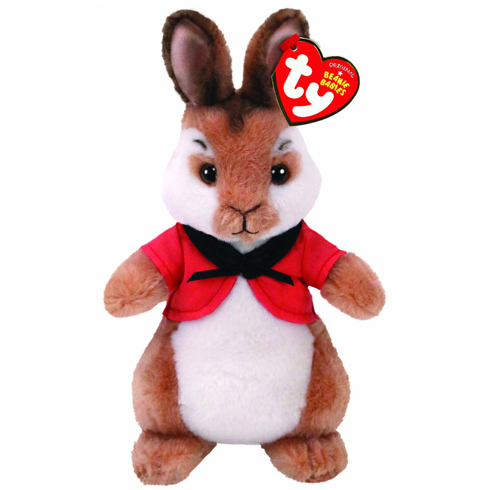 Flopsy Bunny Soft Toy TY Beanie - Peter Rabbit The Movie