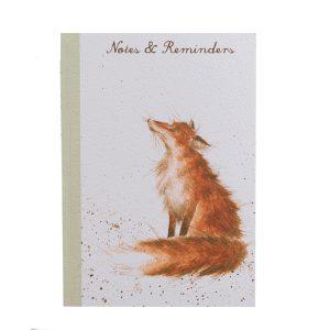 A5 Fox Notebook - Wrendale Designs