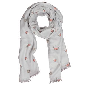 The Jolly Robin Scarf - Wrendale Designs