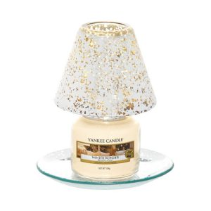 Shimmer Glow Small Shade & Tray Set - Yankee Candle