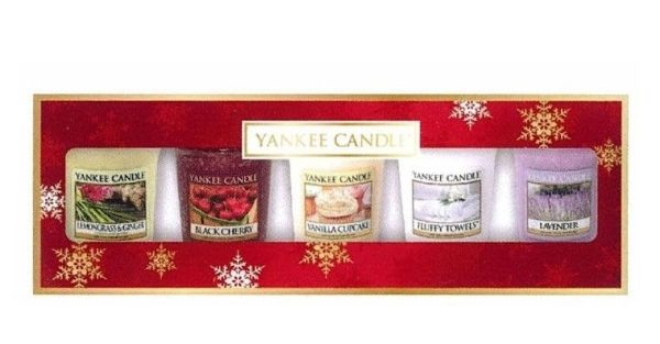 Yankee Candle 5 Votive Everyday Gift Set - The Perfect Christmas