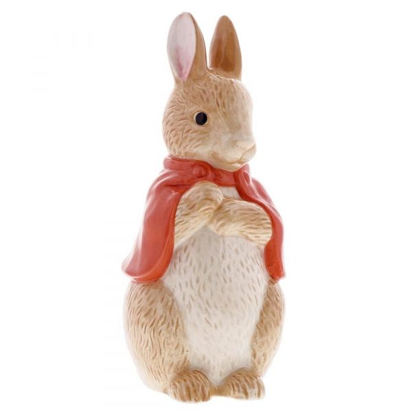 Flopsy Bunny Sculpted Money Bank - Beatrix Potter