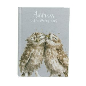 Owl Address and Birthday Book - Wrendale Designs