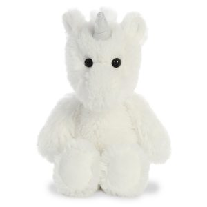 Cuddly Friends White Unicorn, 8 inch - Aurora World