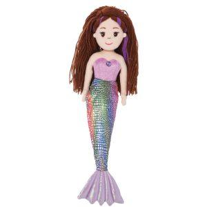 Sea Sparkles Mermaid Pearl, 18 Inch - Aurora World